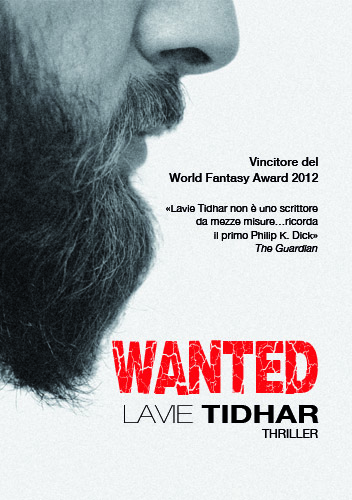 Wanted, Lavie Tidhar, copertina