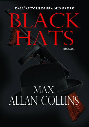 Black Hats by Max Allan Collins copertina